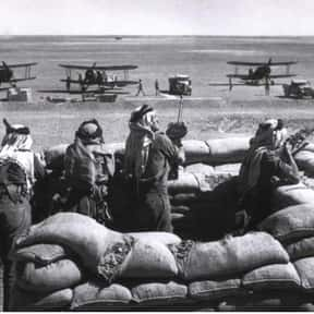 Anglo-Iraqi War is listed (or ranked) 2 on the list World War II Battles Involving the Australia