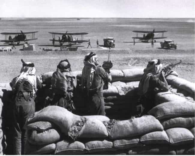 Anglo-Iraqi War is listed (or ranked) 2 on the list List Of Mediterranean Theatre of World War II Battles