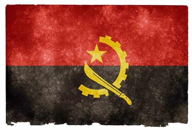 Angola is listed (or ranked) 2 on the list The Countries In Africa