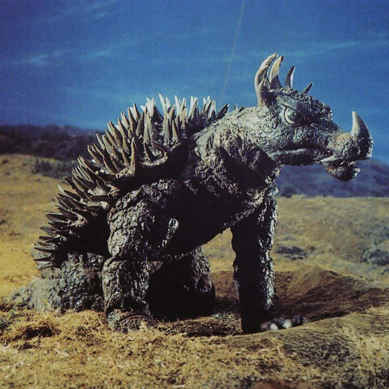 Anguirus is listed (or ranked) 4 on the list The Best Monsters From The 'Godzilla' Movies
