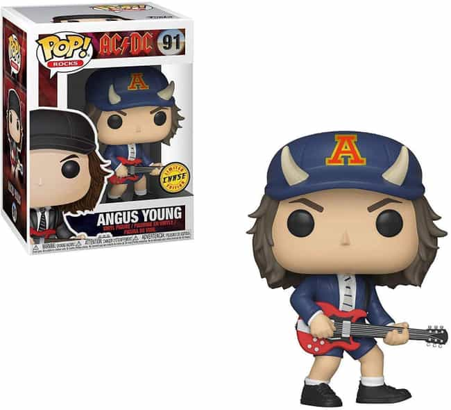 Angus Young is listed (or ranked) 4 on the list The Hardest Hard Rock And Metal Band Funko Pops