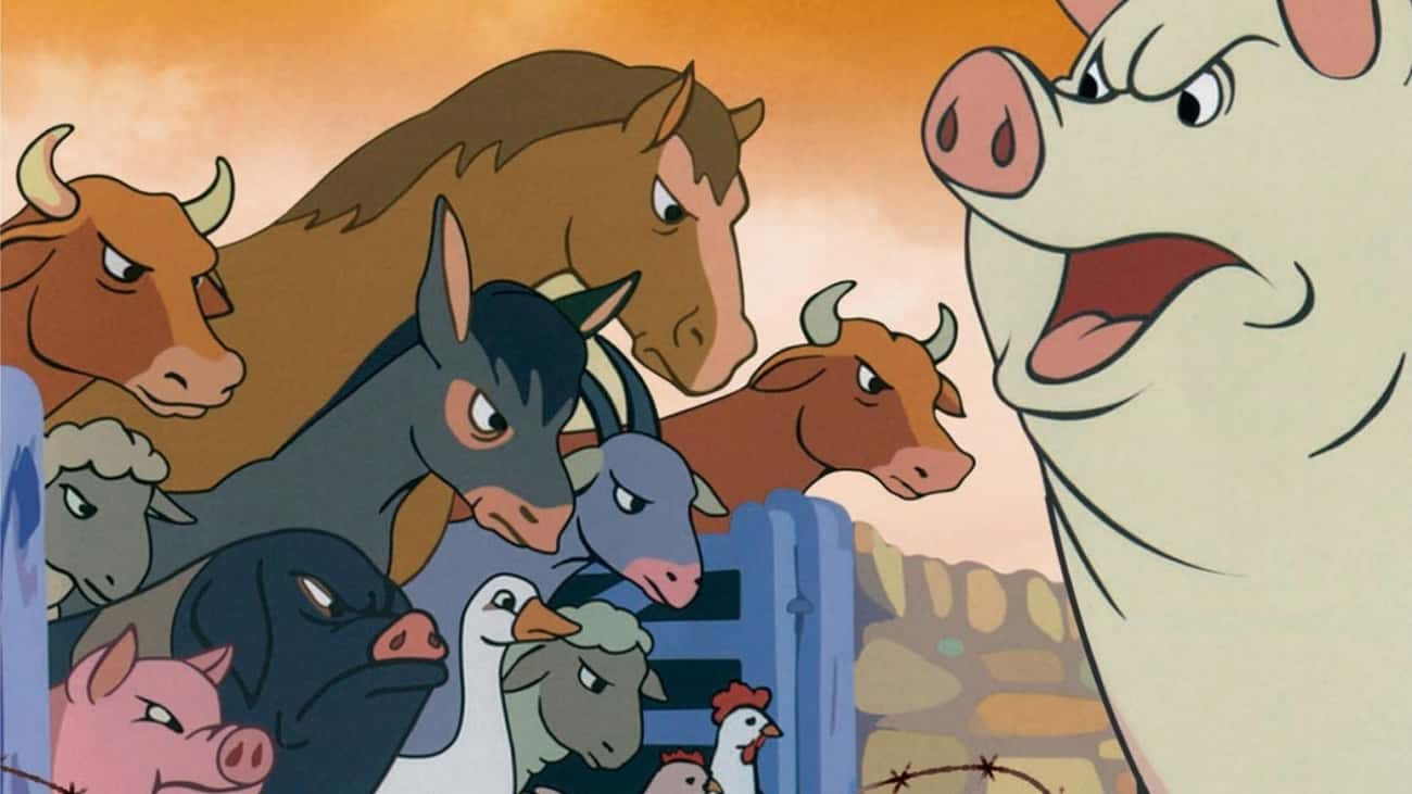 Animal Farm is listed (or ranked) 3 on the list Movies and TV Shows Sponsored by the US Government