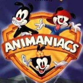 Animaniacs is listed (or ranked) 17 on the list The Greatest Cartoon Theme Songs of All Time