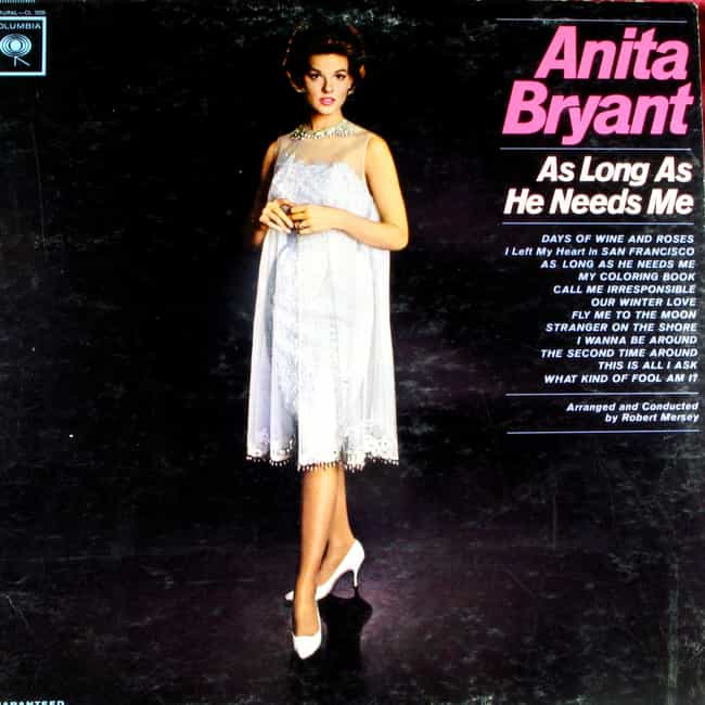 Anita Bryant is listed (or ranked) 2 on the list Famous Will Rogers High School Alumni