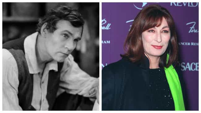 Anjelica Huston is listed (or ranked) 4 on the list Famous Grandparents And Their Grandkids At The Same Age
