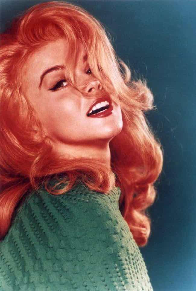 Ann-Margret is listed (or ranked) 3 on the list The Hottest Pin-Up Girls from the 1960s