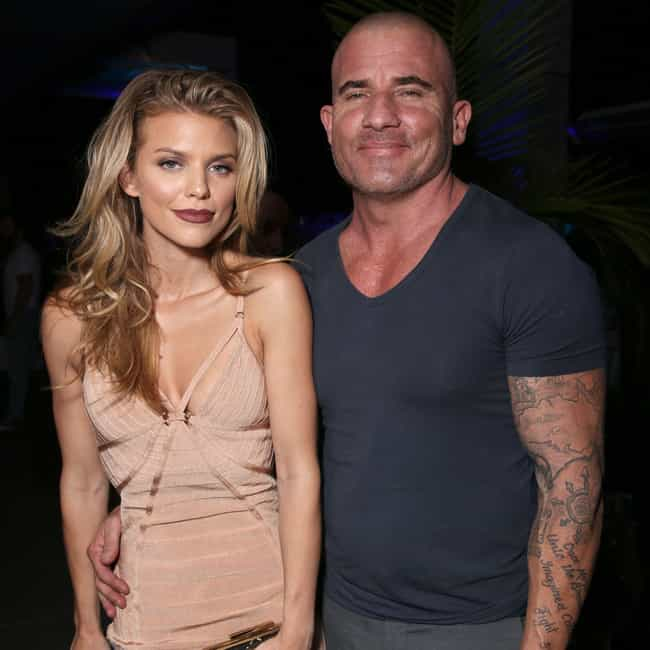 AnnaLynne McCord is listed (or ranked) 1 on the list Dominic Purcell Loves and Hookups