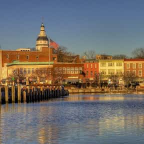 Annapolis is listed (or ranked) 18 on the list The Best US Cities for Architecture