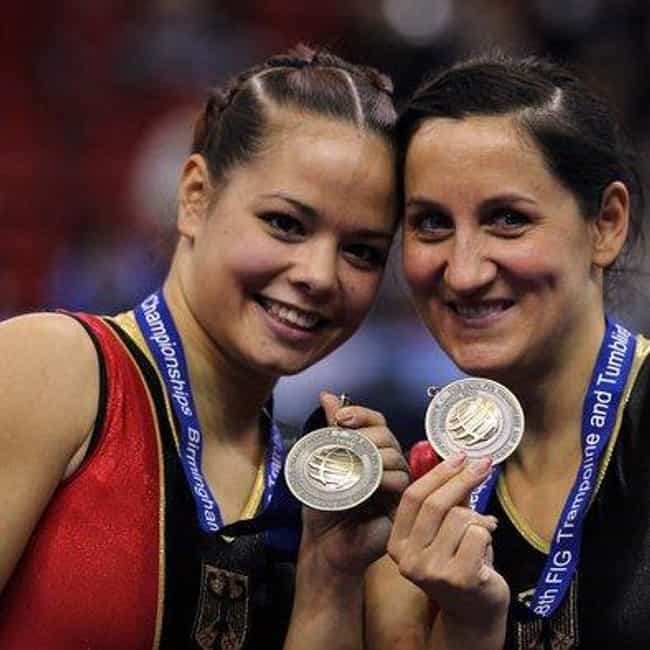 Anna Dogonadze is listed (or ranked) 1 on the list Famous Female Trampoline Gymnasts