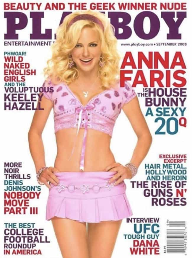Anna Faris is listed (or ranked) 3 on the list Celebrities Who Appeared on the Playboy Cover