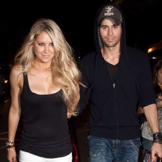 Anna Kournikova is listed (or ranked) 1 on the list Enrique Iglesias Loves and Hookups