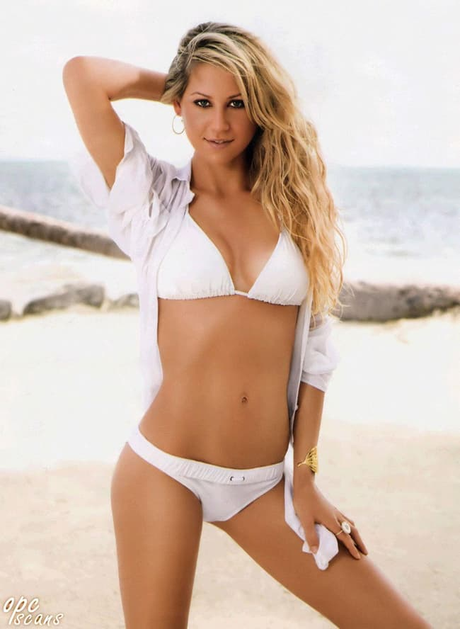 Anna Kournikova Is Listed Or Ranked 1 On The List Female Tennis Players That