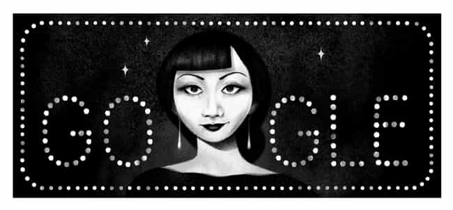 Anna May Wong is listed (or ranked) 1249 on the list Every Person Who Has Been Immortalized in a Google Doodle