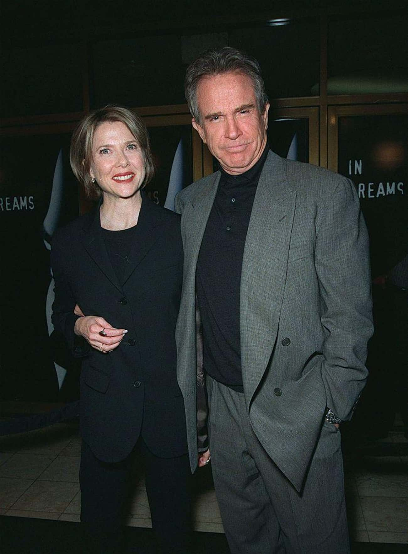 Annette Bening is listed (or ranked) 1 on the list Warren Beatty's Loves & Hookups