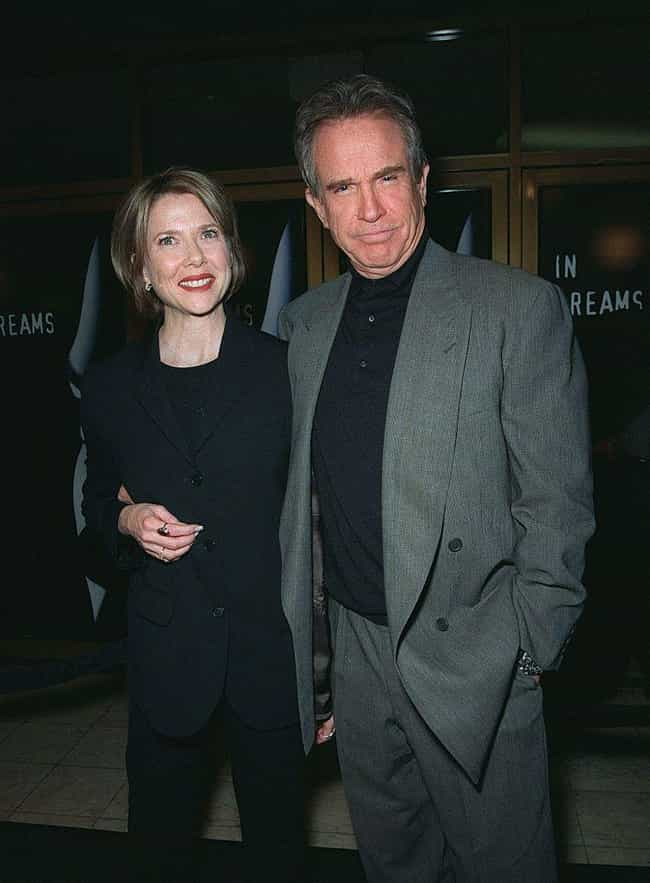 Annette Bening is listed (or ranked) 1 on the list Warren Beatty's Loves &