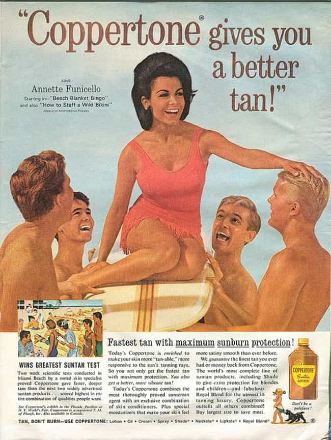 Annette Funicello is listed (or ranked) 2 on the list Famous People Born in 1942