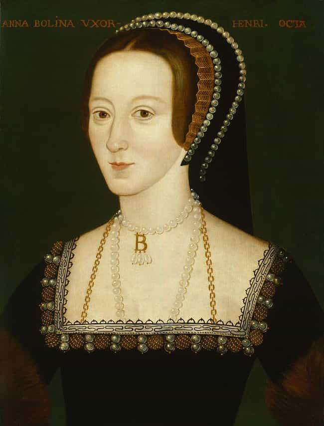 Anne Boleyn is listed (or ranked) 4 on the list 16 Famous Bodies From History Found In Inconspicuous Places