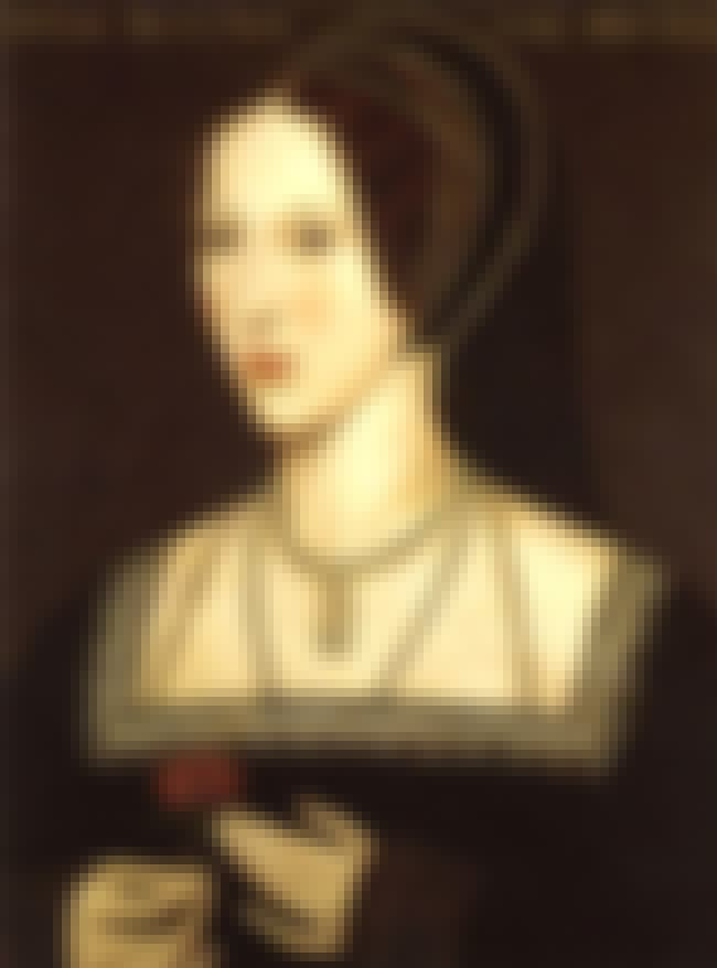 Anne Boleyn is listed (or ranked) 1 on the list Here Are All The Cases Of Alleged Historical Inbreeding That Were So Bad People Were Actually Killed