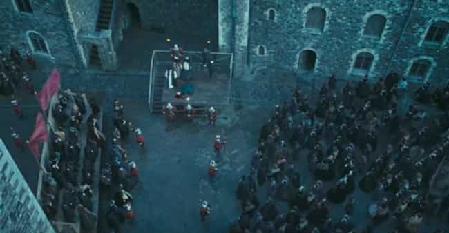 Anne Boleyn is listed (or ranked) 4 on the list Execution Scenes From Movies And TV That Were Way Less Violent Than The Real Thing