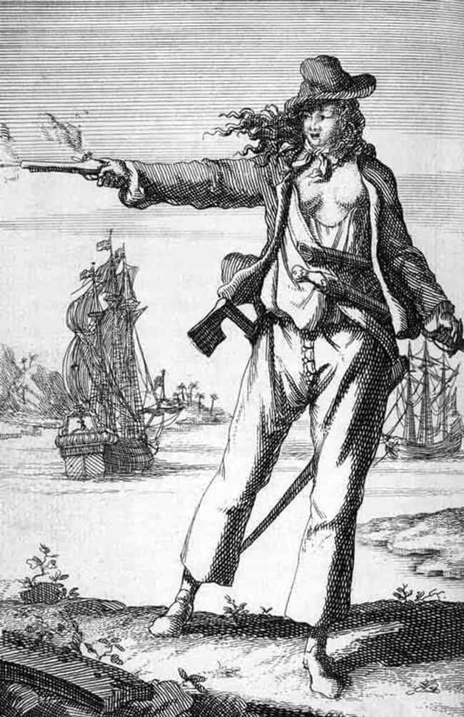 Anne Bonny is listed (or ranked) 4 on the list 15 Excessively Violent Pirates Who Rained Death On Their Victims