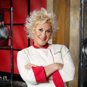Anne Burrell is listed (or ranked) 16 on the list Celebrity Chefs You Most Wish Would Cook for You