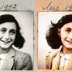 Anne Frank is listed (or ranked) 14 on the list People We Wish Were Still Alive