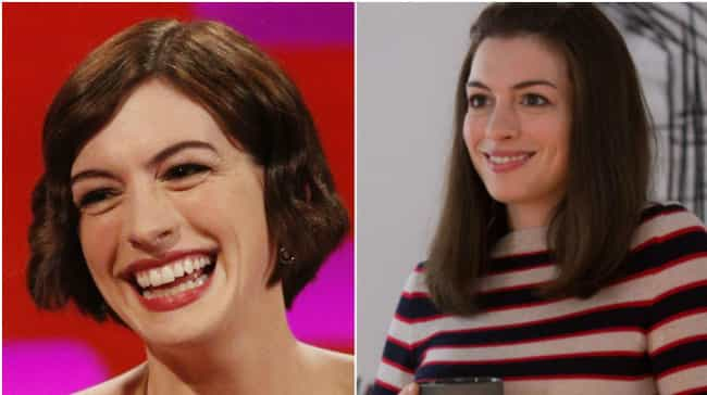 Anne Hathaway is listed (or ranked) 1 on the list 20 Actresses Who Pretty Much Play Themselves In All Of Their Films