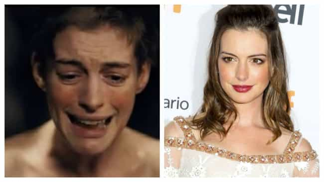 Anne Hathaway is listed (or ranked) 1 on the list Dreamboat Actors' And Actresses' Roles They Took To Be Taken Super-Seriously, Ranked