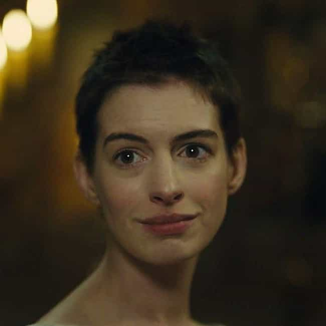 Anne Hathaway is listed (or ranked) 2 on the list 8 Actresses Who Shaved Their Heads For Movie Roles
