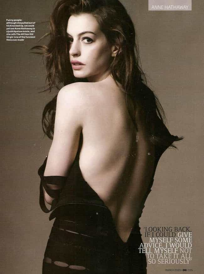Anne Hathaway is listed (or ranked) 1 on the list Stunning Celeb Girls You Probably Didn't Know Were Vegans
