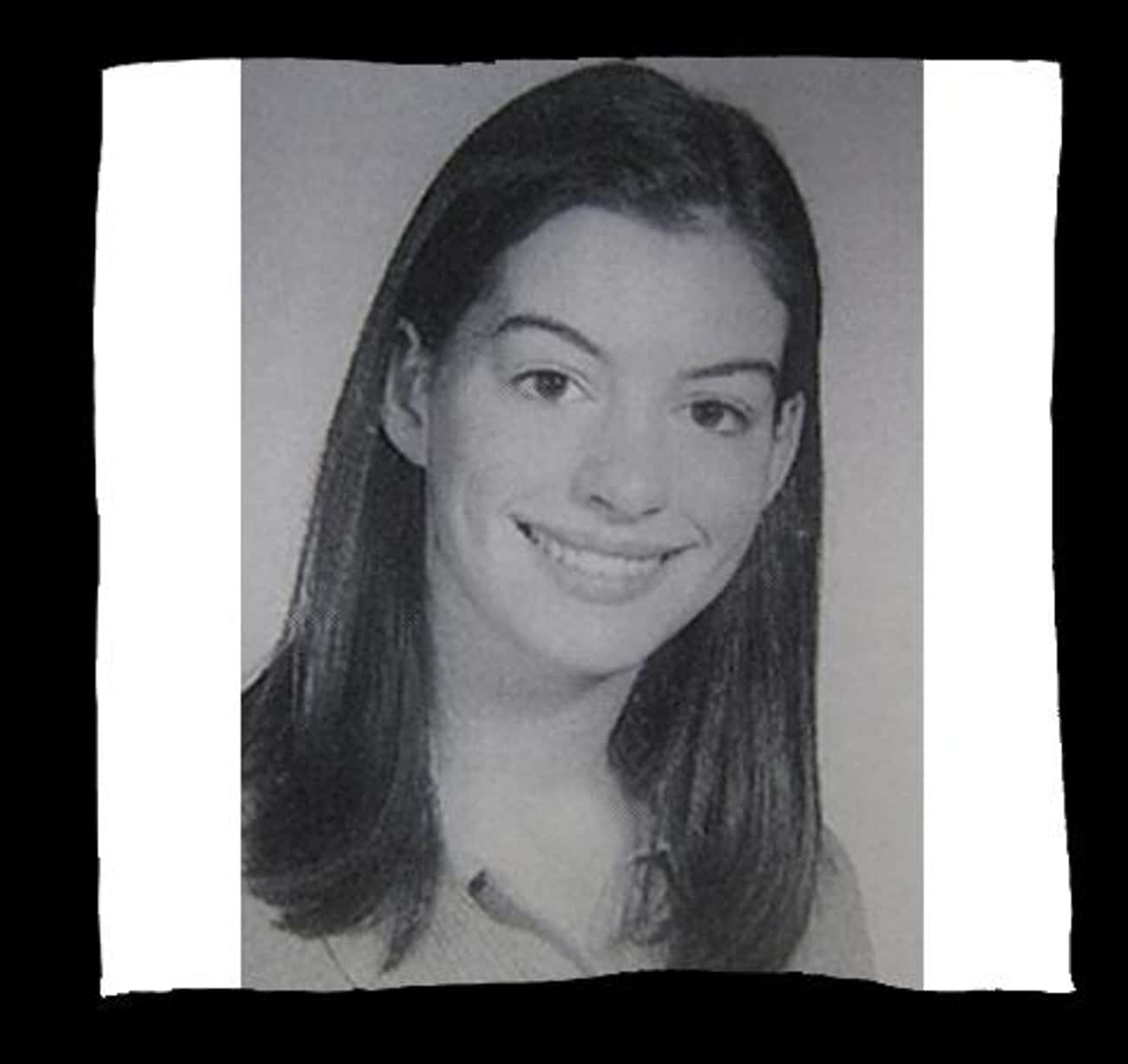 Anne Hathaway is listed (or ranked) 2 on the list 50+ Celebrities Who Were in School Choir