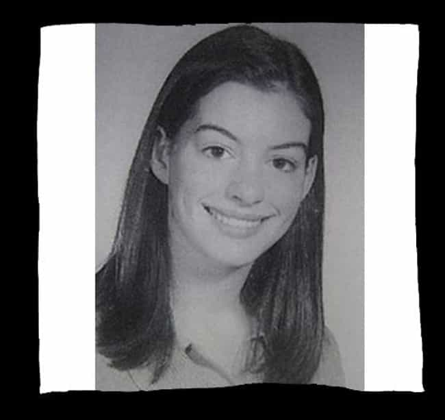 Anne Hathaway is listed (or ranked) 3 on the list 50+ Celebrities Who Were in School Choir
