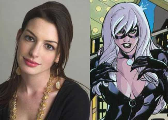 Anne Hathaway is listed (or ranked) 1 on the list Actors Who Almost Got the Part in a Marvel Film