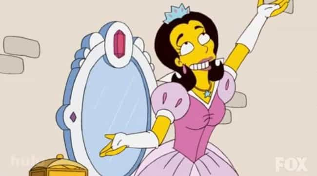 Anne Hathaway is listed (or ranked) 4 on the list The Greatest Guest Appearances in The Simpsons History