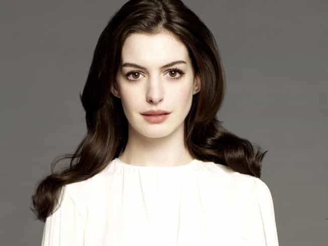 Anne Hathaway is listed (or ranked) 2 on the list 15 Celebrities Who Almost Became Priests or Nuns