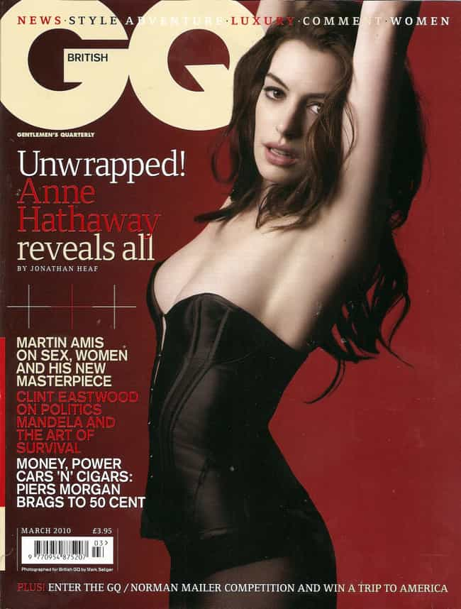 Anne Hathaway is listed (or ranked) 1 on the list The Best GQ Covers