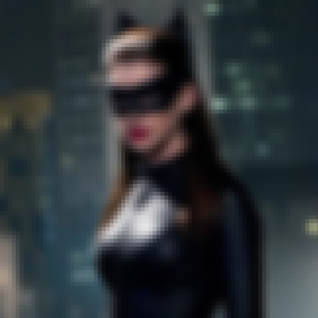 Anne Hathaway is listed (or ranked) 2 on the list Oscar-Nominated Actors Who Also Played Comic Book Characters