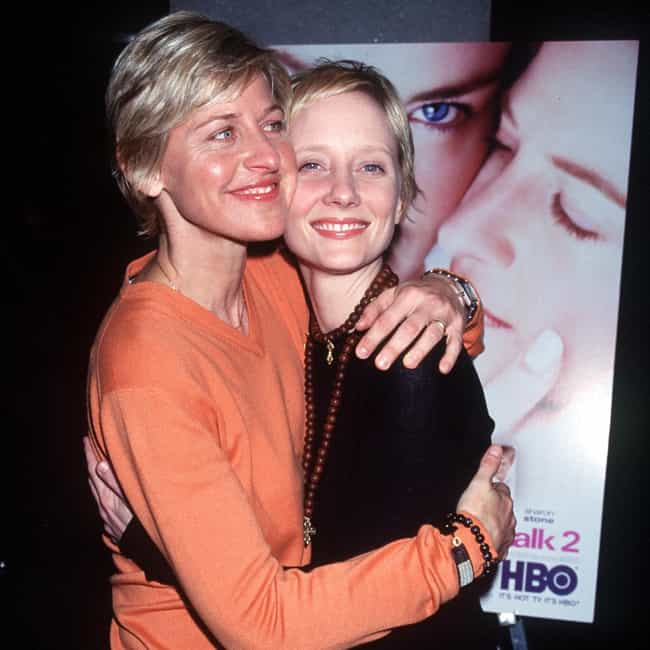 Anne Heche is listed (or ranked) 3 on the list Ellen DeGeneres Loves and Hookups