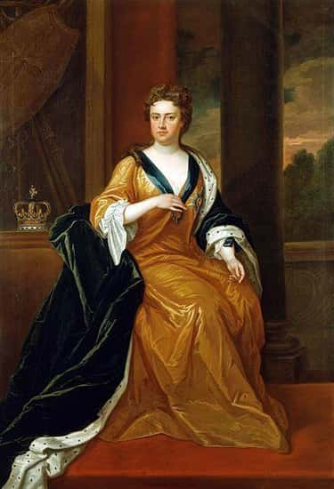 """Queen Anne Was Close With Her """"Lady Of The Bedchamber"""""""