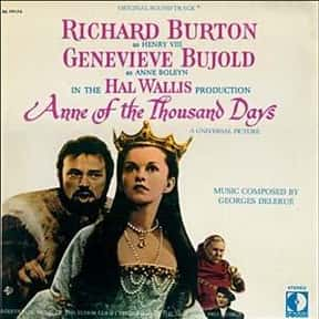 Anne of the Thousand Days is listed (or ranked) 10 on the list Roger's Top 250+ Classic Epic Movies