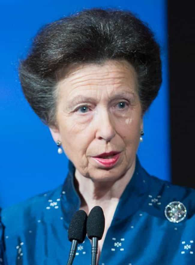 Anne, Princess Royal is listed (or ranked) 2 on the list What Every Living British Royal Does Today