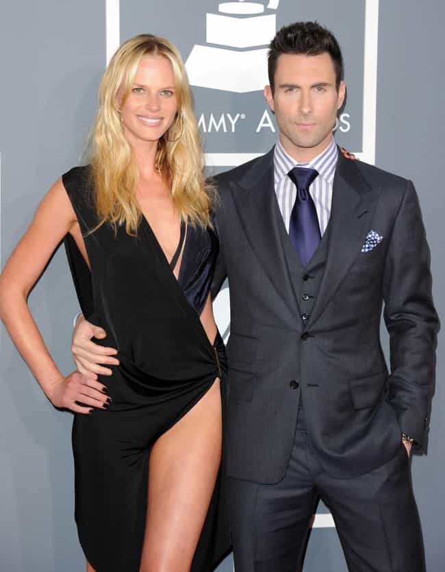 Anne Vyalitsyna is listed (or ranked) 4 on the list Adam Levine's Loves & Hookups