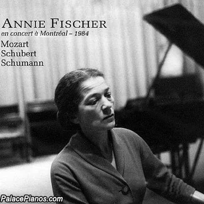Annie Fischer is listed (or ranked) 4 on the list Famous Pianists from Hungary
