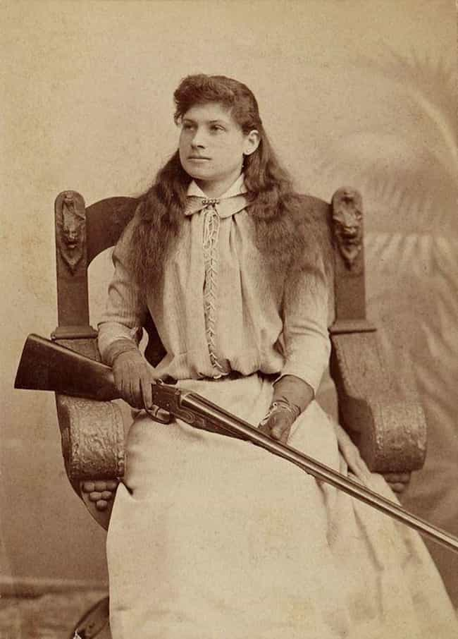 Annie Oakley is listed (or ranked) 5 on the list Heroines Of The Wild West You Wouldn't Want To Mess With