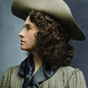 Annie Oakley is listed (or ranked) 17 on the list Famous People Named Annie