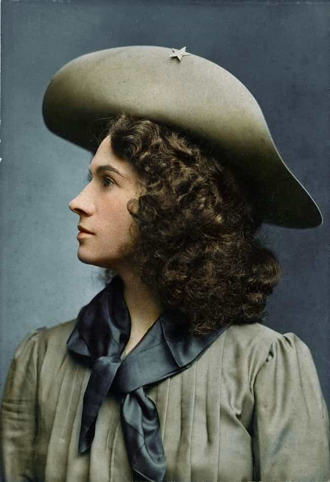 Annie Oakley is listed (or ranked) 8 on the list 50+ Incredible Colorized Photos from History