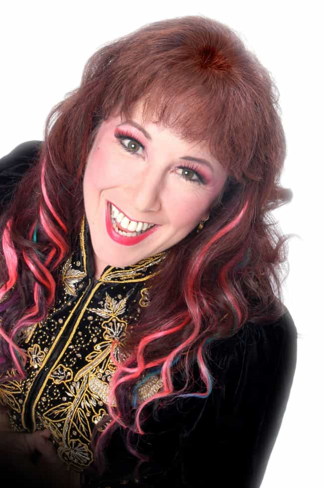 Annie Sprinkle is listed (or ranked) 4 on the list Famous Female Television Show Hosts