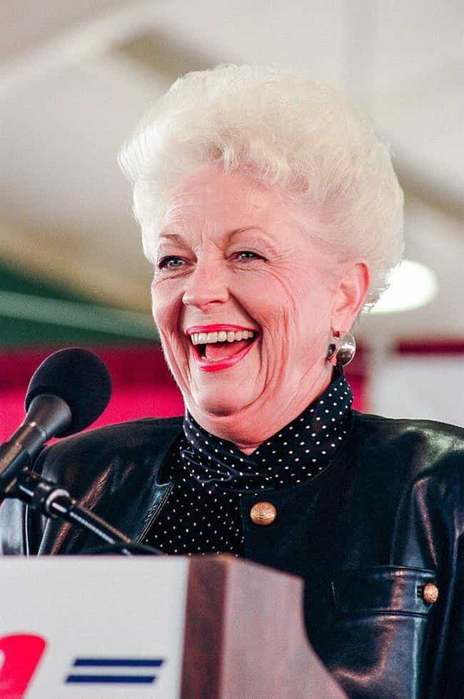 Ann Richards is listed (or ranked) 2 on the list Politicians Who Went to Rehab