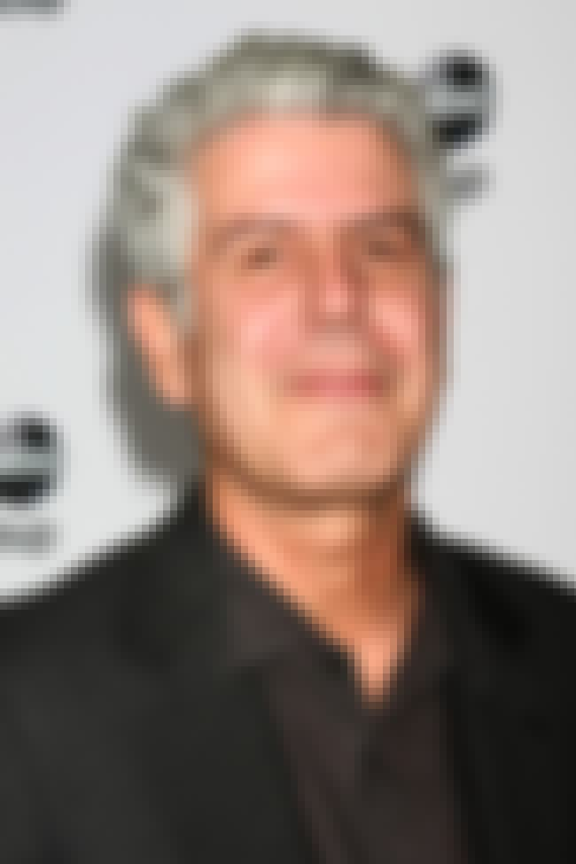 Anthony Bourdain is listed (or ranked) 3 on the list List of Famous TV Chefs