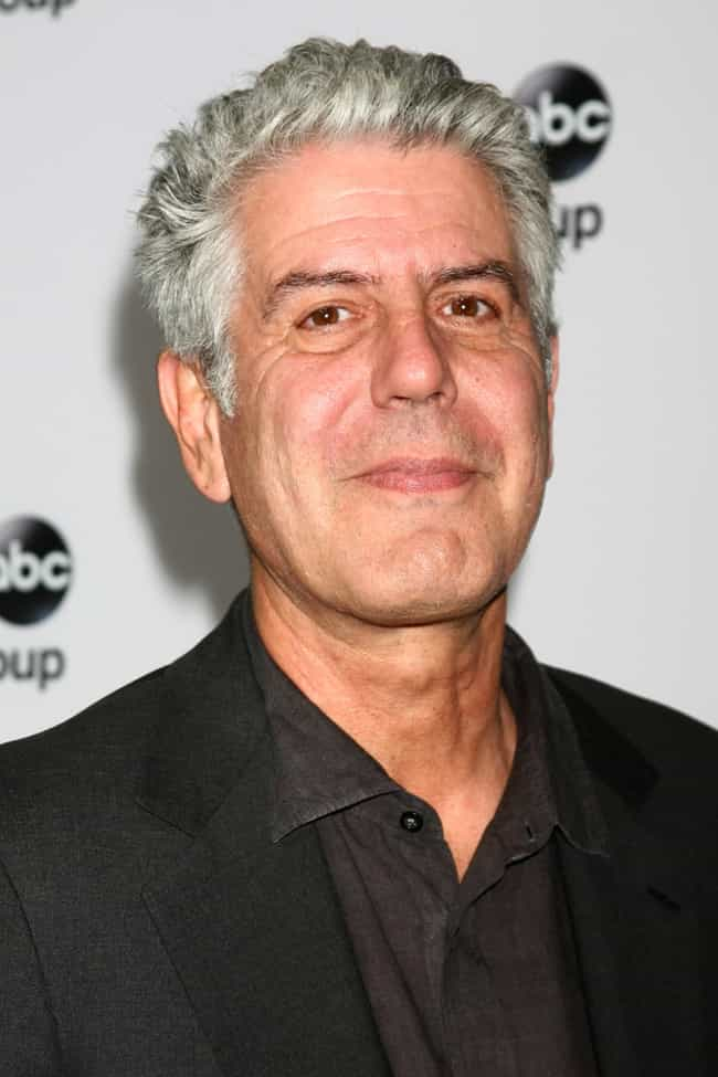 Anthony Bourdain Is Listed Or Ranked 3 On The List Famous Chefs From France